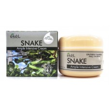 EKEL Ample Intensive Cream Snake - Крем для лица с пептидом змеиного яда, 100 гр.