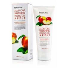 FarmStay All-In-One Whitening Peeling Gel Apple – Пилинг-гель для лица с экстрактом яблока, 180 мл.